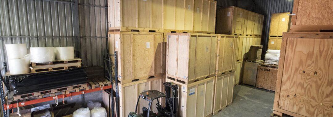 Convenient full storage service when moving